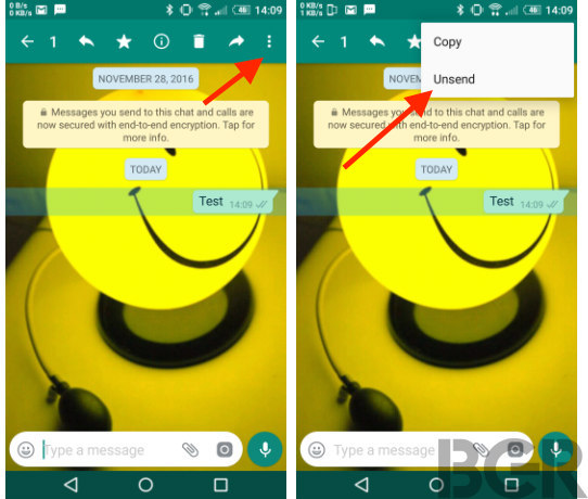 how to delete unsent text messages on android