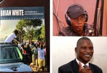 Bryan White, Tamale Mirundi and the book