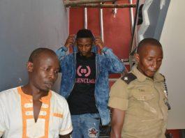 Don Nasser shortly after being arrested