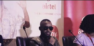 Eddy Kenzo during the press conference at Kampala Serena Hotel