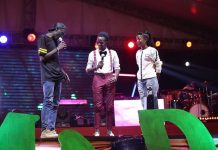 Some of the stage action from the maiden edition