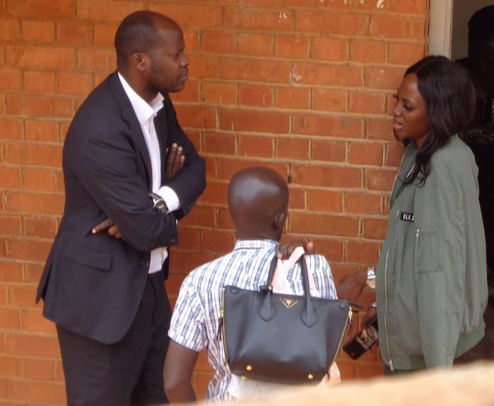 Maggie at Katwe police on Thursday