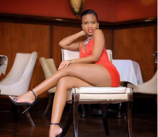 Sheila Gashumba is accusing La Paroni's event hosts of using her images illegally