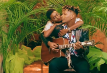 Fille and Toniks getting touchy in Falling video