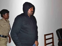 James Bahingana the head operations and investigations with BMS Investigation Agency who is facing charges of impersonating as an official from State House Anti corruption Unit.