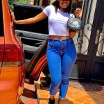 Musician Sheebah Steps Out Bra-less Leaves Men Panting