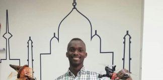 Ugandan Aueronautical Engineering Student Isaac Wanderema