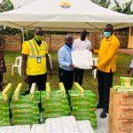 Letshego Donates COVID Aid to Kyotera Town